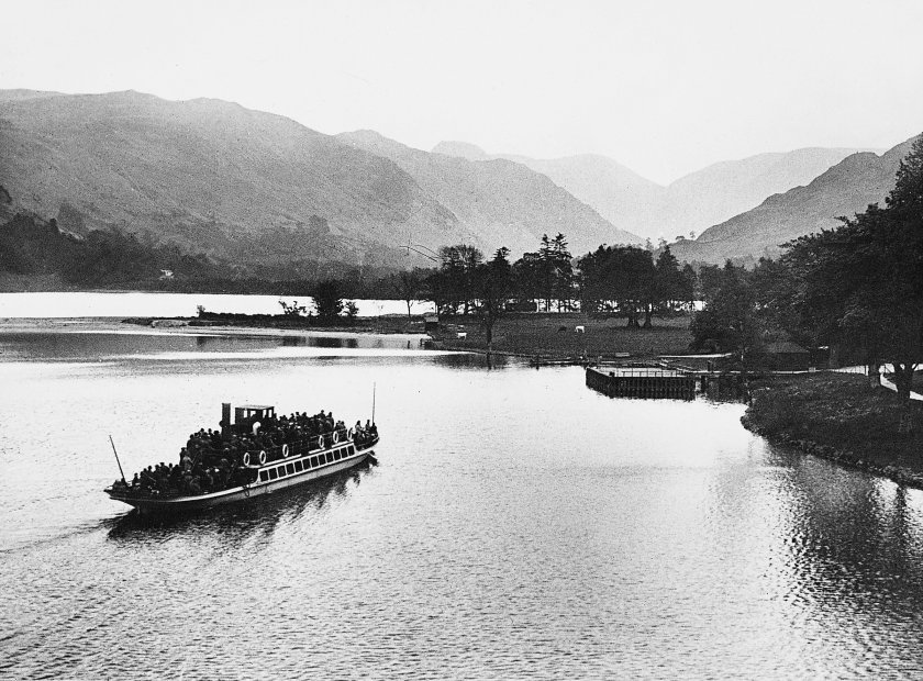 Lady at Ullswater Hotel